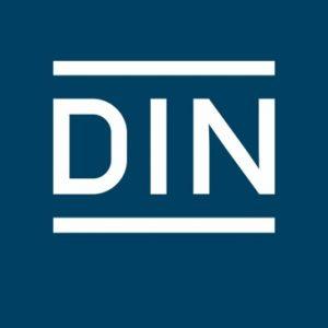 2020: DIN e. V. (Logo)