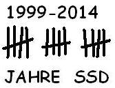 Archiv: SSD - 15 Jahre - Logo