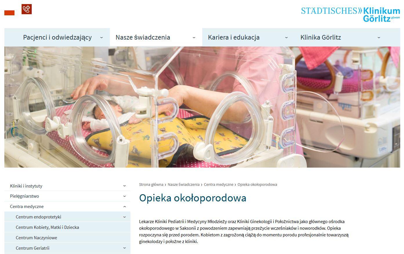 Übersetzung Internetseite Polnisch